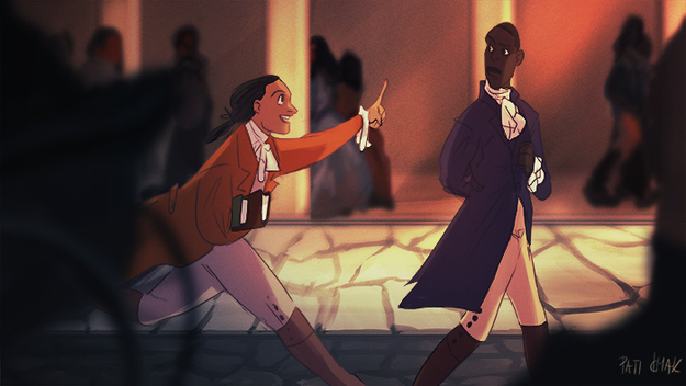 Aaron Burr, Sir by Pati Cmak
